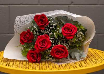 Gallery- 6 Long Stemmed Rose Bouquet From $50.00 (Large)