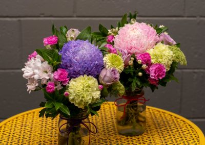 Gallery- Seasonal Posy in Jar From $30.00 (Large)