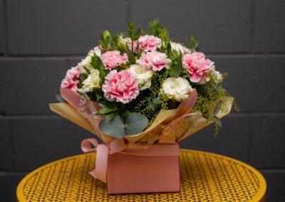 Gallery- Carnation Lisianthus mix $50.00 (Large)