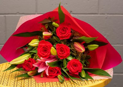 Gallery- Rose & Oriental Bouquet From $70.00 (Large)
